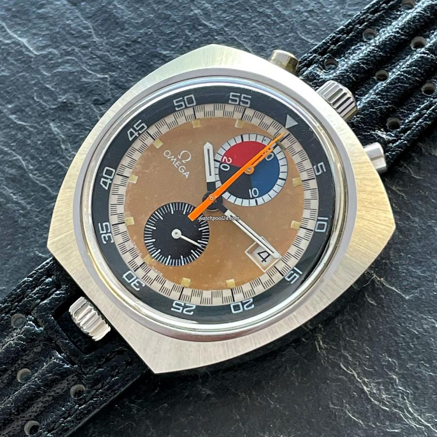 Omega Seamaster 146.011 - Bullhead - ultra rare racing chronograph from 1970