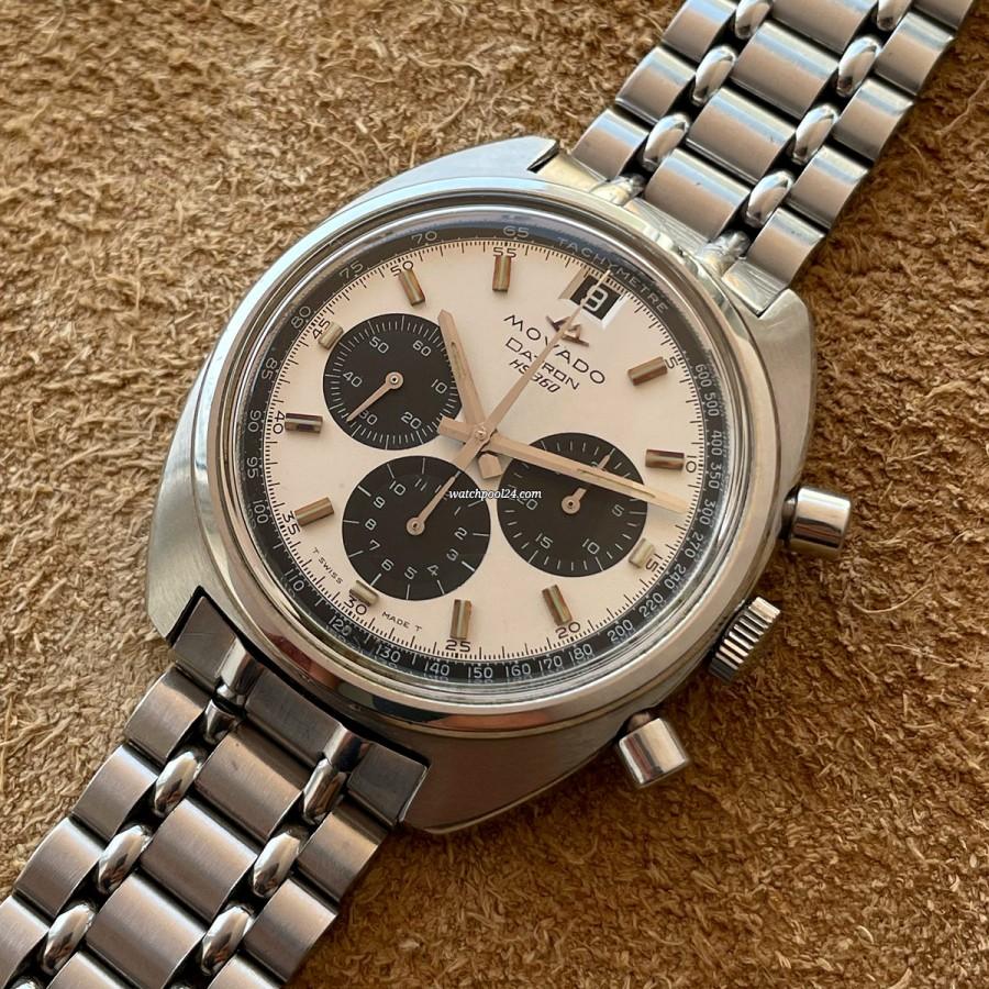 Movado Datron 434-705-502 Box - 70s automatic chronograph