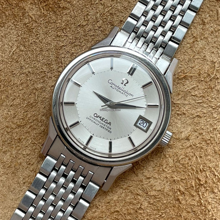 Omega Constellation 168.0065 Pie Pan Dial - a fine and elegant vintage wristwatch from the 70s
