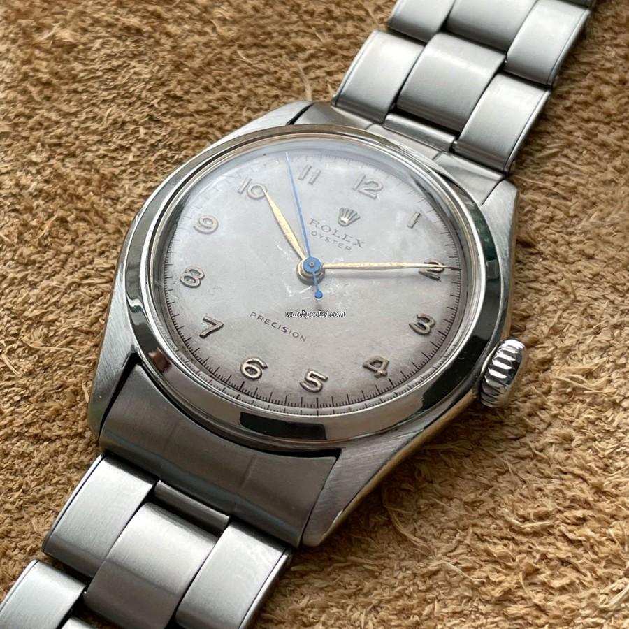 Rolex Precision 6082 Original Bracelet - vintage Rolex Precision from 1961