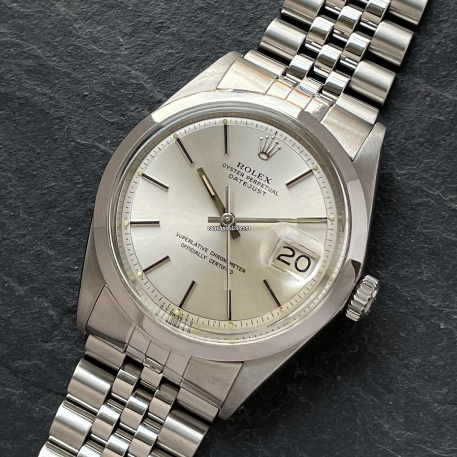 Rolex Datejust 1600F - elegante Armbanduhr von 1976