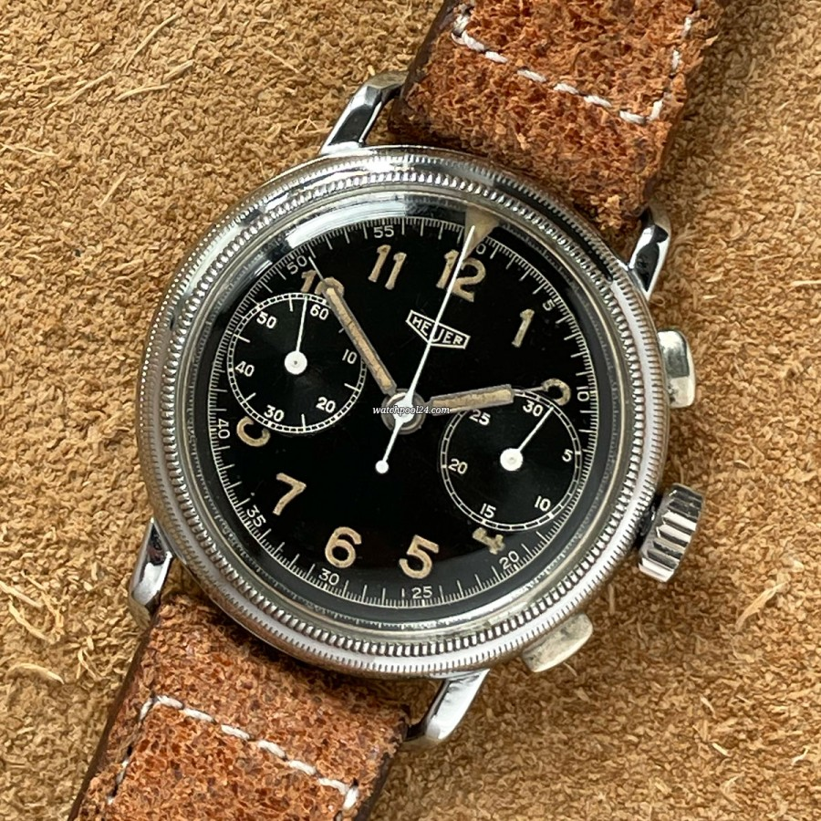Heuer Flieger Chronograph 348 - old Flieger chronograph from 1942
