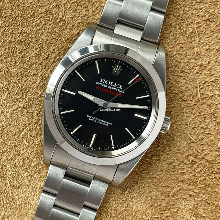 Rolex Milgauss 1019 Black - from 1969 - anti-magnetic vintage wristwatch
