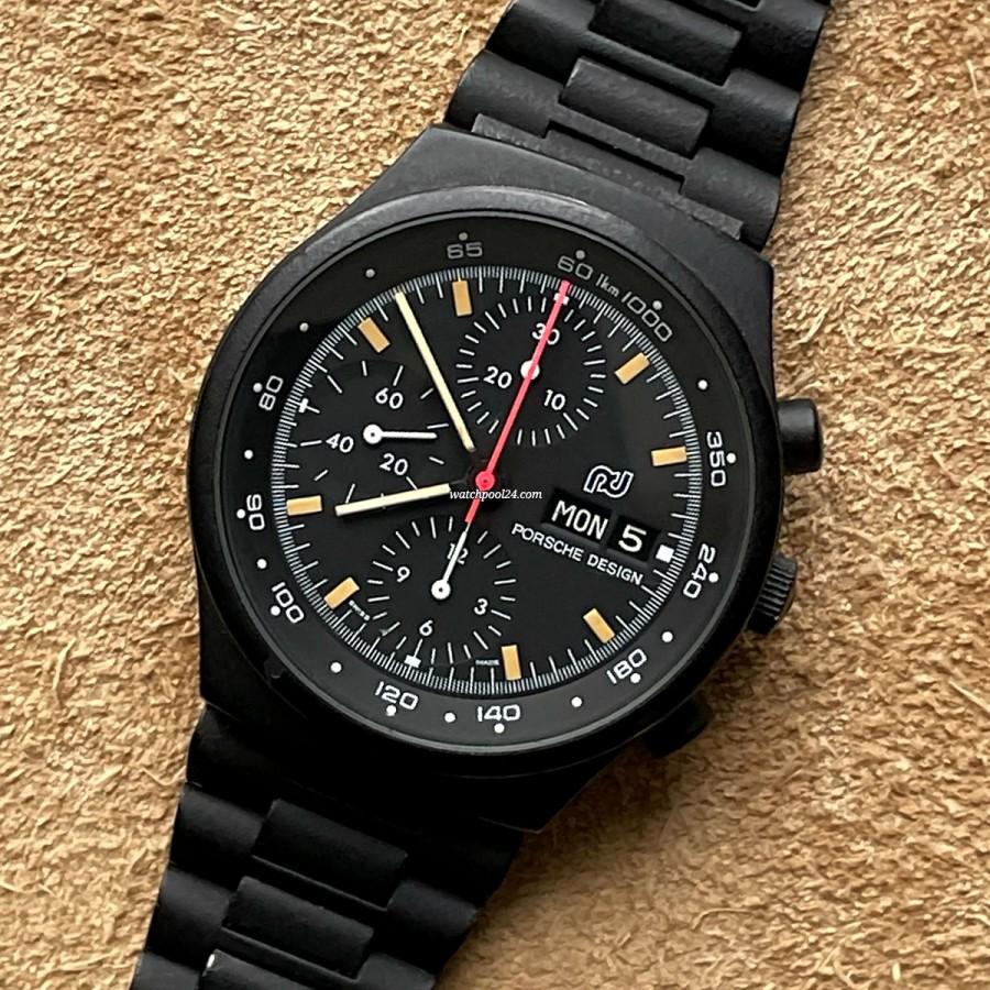 Orfina Porsche Design Chronograph 7750 - racing chrono from the 70s