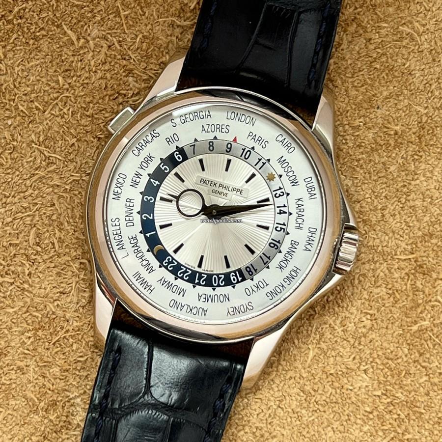 Patek Philippe World Time 5130G Full Set - elegante Weltzeituhr von 2011