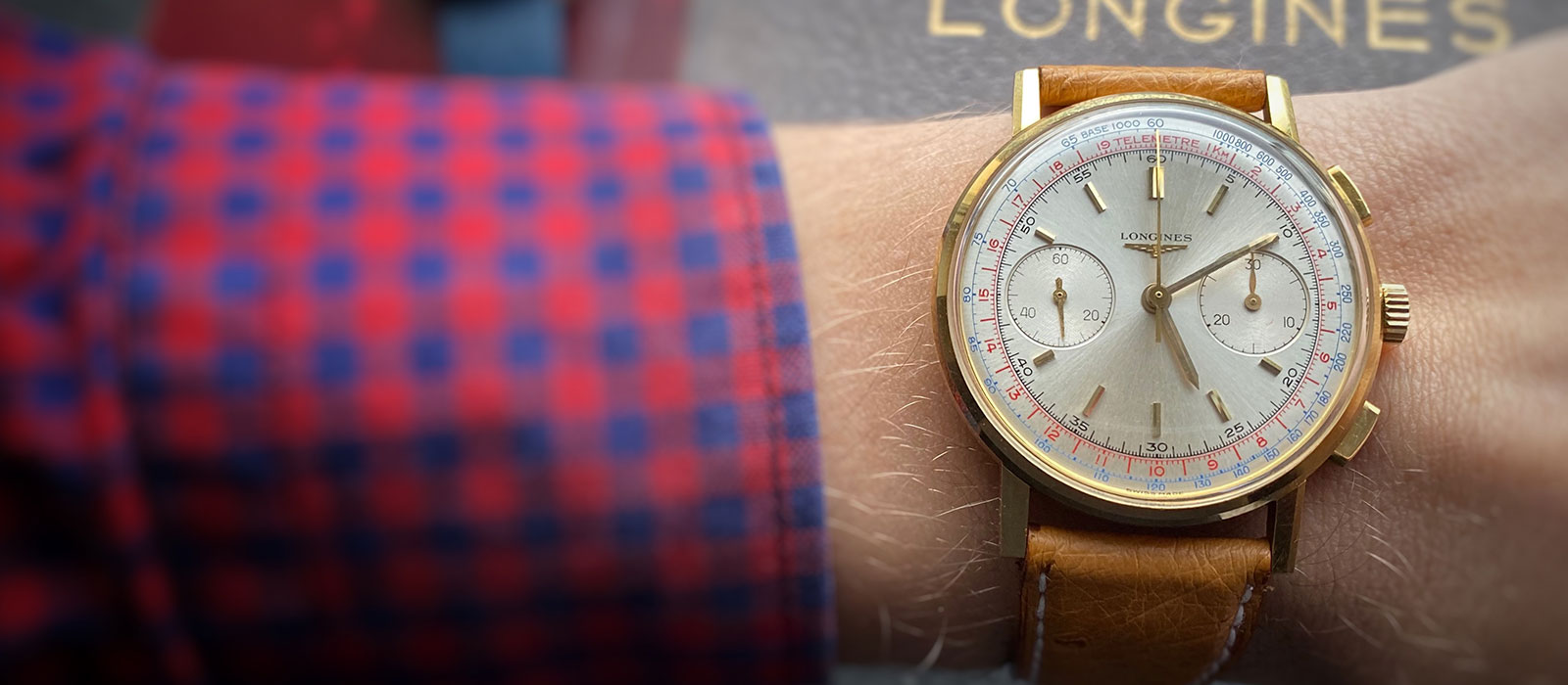 Vintage Longines Chronograph 7414 Flyback